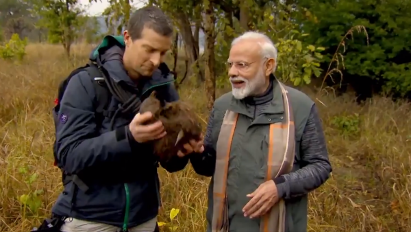 Pm Modi To Appear In Man Vs Wild Episode With Bear Grylls