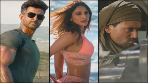 War Hrithik Tiger Smashing The Internet With New Teaser