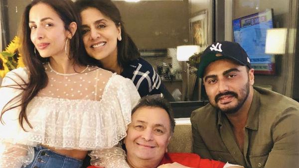 Arjun Kapoor Pens A Heartfelt Note To Rishi Kapoor For Making Him Malaika Feel At Home In Ny