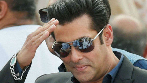 Salman Khan S Bottle Cap Challenge Comes With A Twist See Video