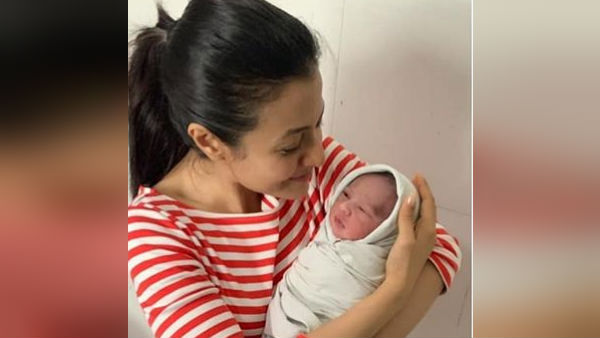 Actress Koyal Mullick Posts Picture With New Born Baby