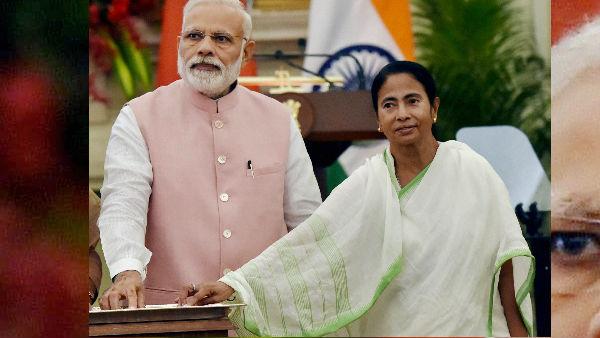 Cm Mamata Banerjee Greets Pm Narendra Modi On Birthday