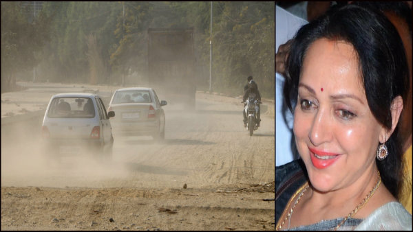 Image result for MP roads in like 'Hema Malini's cheeks': Minister