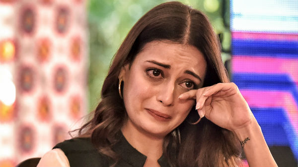 Crying Dia Mirza While Talking About Climate Change Refuses Tissue Paper
