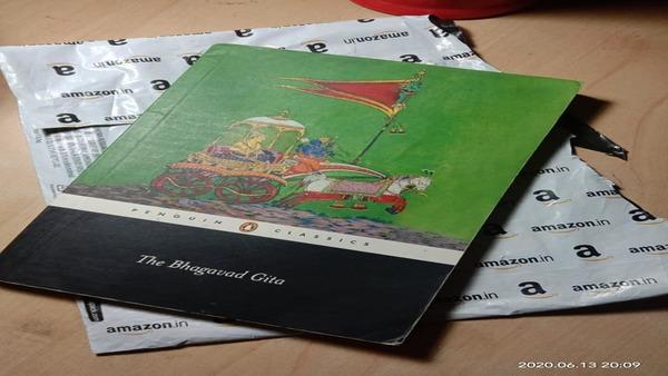 আমাজনে কমিউনিস্ট ম্যানিফেস্টোর অর্ডার, পেলেন ভগবত গীতা! শোরগোল সোশ্যাল মিডিয়ায়