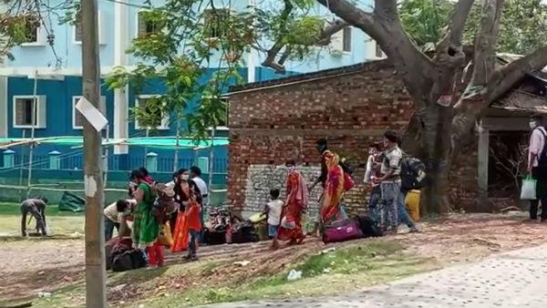বসিরহাটে ঘরে ফিরল ৩ হাজারেরও বেশি পরিযায়ী শ্রমিক