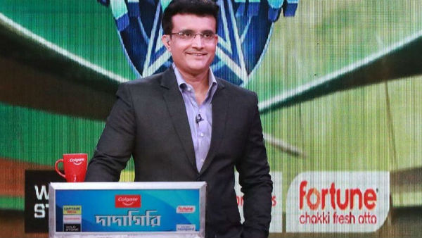 Sourav Ganguly Resumes Shoot After Finished Home Quarantine