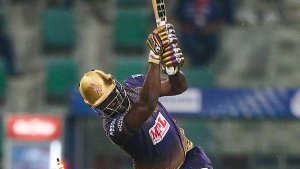 Ipl 2020 Andre Russell Return To Dressing Room On 24 Hit 3 Sixes