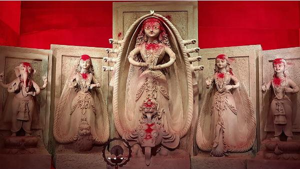 ৭৪তম বর্ষে 'দুর্গোৎসব নয়, শুধু দেবী দুর্গার পুজোই লক্ষ্য ত্রিধারা সম্মিলনীর