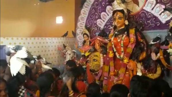 উত্তরবঙ্গের রাজবংশী সমাজে দুর্গাপুজোর পরে তিনদিন ধরে চলে 'অন্য পুজো'
