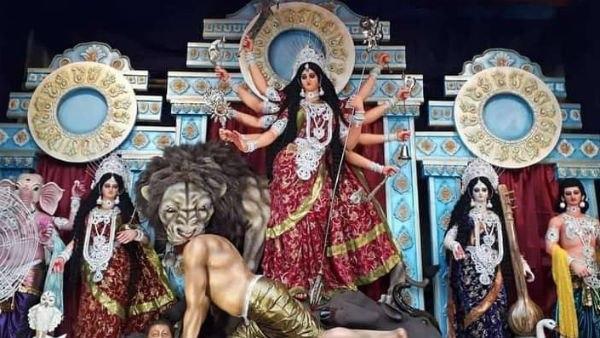 লাদাখে চিনা আগ্রাসনের প্রতিশোধে দুর্গাপুজোর 'অসুর' চিনা প্রেসিডেন্ট জিনপিং! কোথায় হচ্ছে এমন পুজো