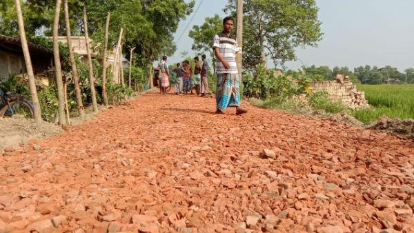 স্বাধীনতার পর প্রথম পাকা রাস্তা পাচ্ছে সুন্দরবনের ভেটকিয়া গ্রাম