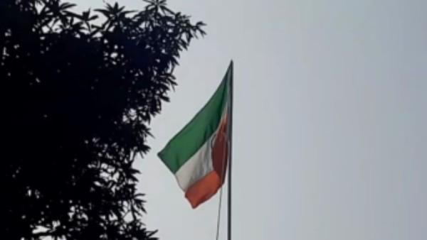 বাঁকুড়ায় বনদফতরের কার্যালয়ে উড়ল উল্টো জাতীয় পতাকা, সংবাদ মাধ্যমের খবরে হুঁশ ফিরল কর্মীদের