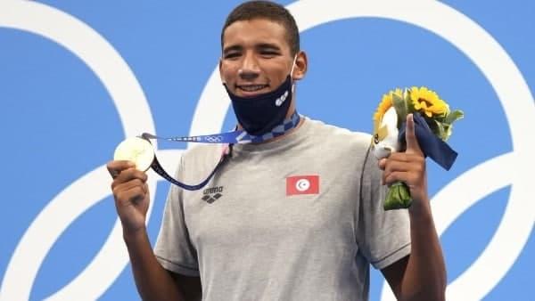 Tokyo Olympics : সাঁতারের ৪০০ মিটার ফ্রি স্টাইলে তিউনিসিয়ার অবাক সোনা, আমেরিকার মুখ উজ্জ্বল চেসের