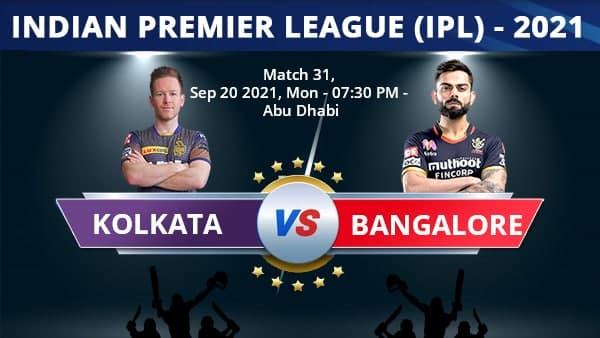 IPL 2021 Live: বিরাটের আরসিবি ৯২ রানে অল আউট! বল হাতে কেকেআরের নায়ক রাসেল-বরুণ