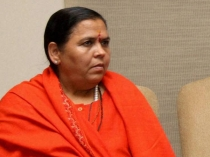 Congress Should Spare Ganga From Communal Politics Uma Bharti