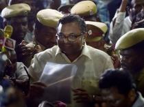Karti Chidambaram S Cbi Custody Extended Three Days