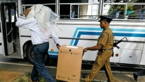 Miscreants Attacks Convoy Of Bus Carrying Voters In Srilanka On Day Of Presidential Election