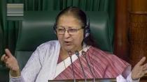 Could Not Speak Against Bjp Had To Seek Help From Congress Said Sumitra Mahajan