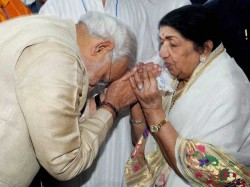 Lata Roots For Modi As Pm