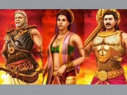 Amitabh Anil Kapoor Vidya Balan In 3d Mahabharat