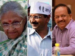 Delhi Votes Today 3 Way Fight Between Aap Cong Bjp