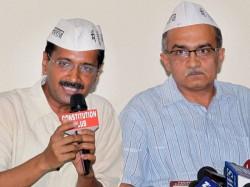 Aap To Support Bjp Kejriwal Says No Prashant Bhushan Says May Be