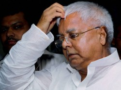 Two Police Officers Face Probe After Washing Feet Of Laluprasad