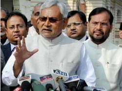 No Alliances With Congress Says Nitish Kumar