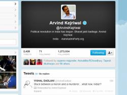 Kejriwal Retweets Rahul Modi Comment Faces Ire