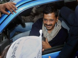 Car In Arvind Kejriwals Convoy Hits Man