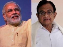 Chidambaram Mocks Modi While Delivering His Budget Speech