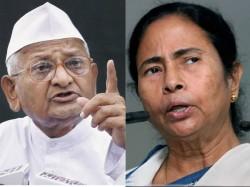 Anna Hazare Praises Mamata Assures Her Support In Lok Sabha Polls