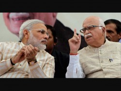 Narendra Modi From Vadodra And Advani From Gandhinagar