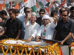 Rahul Gandhis Tit For Tat Roadshow In Varanasi
