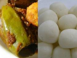 Modis Swearing In Ceremeony Bengali Delicacies Potoler Dorma Rosogolla In Menu