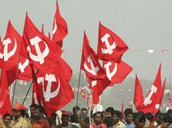 Cpm Workers Organise Protest Against Their Leaders In Kolkata
