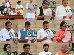 Narendra Modis Council Of Ministers At A Glance