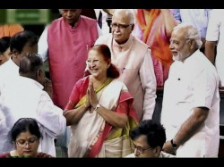 Sumitra Mahajan Unanimously Elected As Speaker Of Lok Sabha