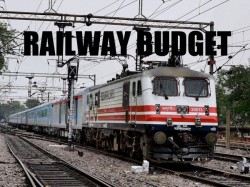 Sadanand Gowda Presents Railway Budget 2014 15 In Parliament