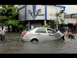 Rain In Mumbai Continues Only Colaba Gets 101 Mm In Last 24 Hours