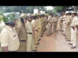 k Policemen Deployed To Tackle Tomorrows Bangalore Bandh