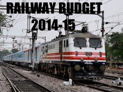 Railway Budget 2014 15 Gengal Wont Have Much To Cheer