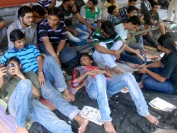 Hunger Strike Of Ssc Candidates Continues State Govt Still Stubborn