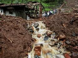 Pune Landslide Toll Crosses
