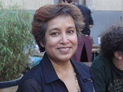 Visa Row Taslima Nasreen Meets Home Minister Rajnath Singh