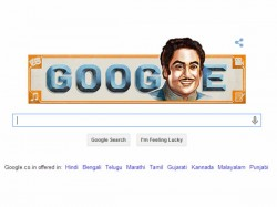Google Celebrates Kishore Kumars Birthday With Doodle