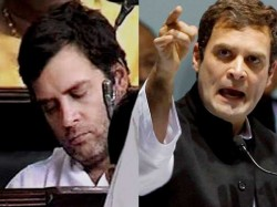 Rahul Gandhi Is Frustrated Now Bjp On Congress Protest In Lok Sabha