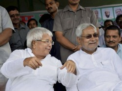 To Stop Bjp Lalu Nitish Come Together For Bihar By Polls