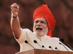 Some Moments Of Narendra Modi S I Day Speech In Pic